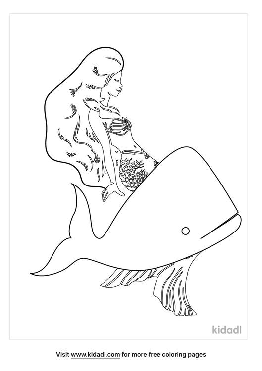 mermaid-on-a-whale-coloring-page.png