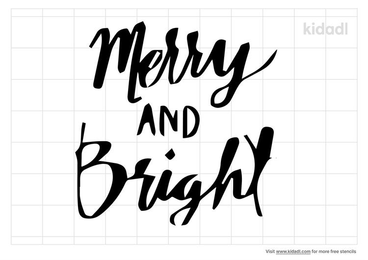 merry-and-bright-stencil