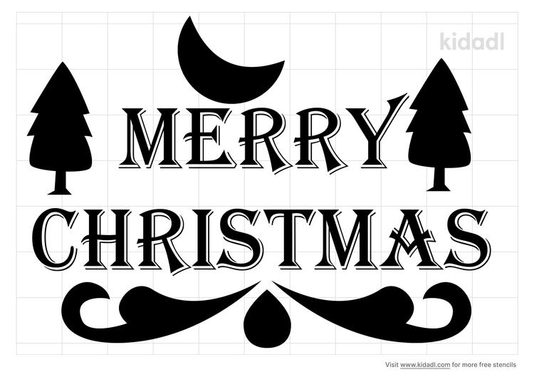 merry-chirstmas-stencil