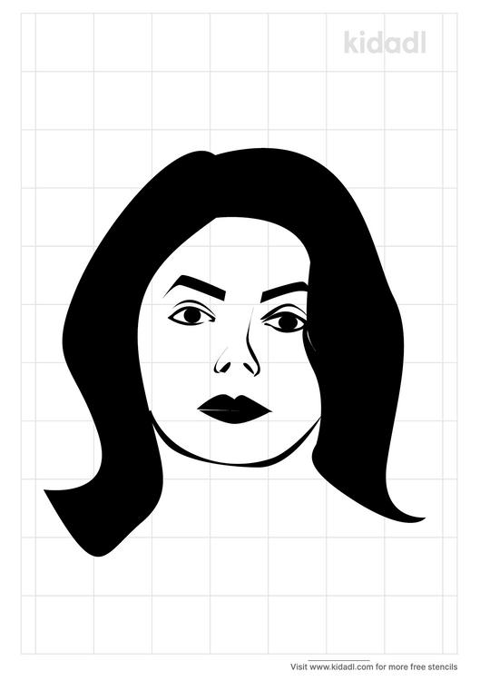 michael-jackson-stencil-face