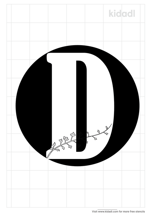 monogram-stencil