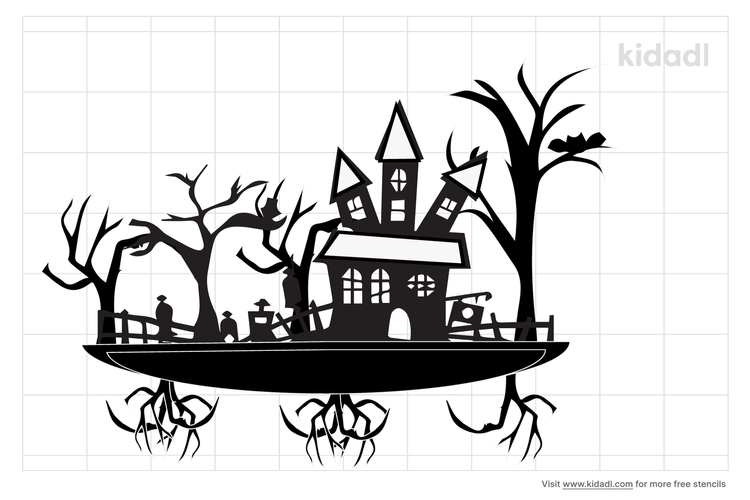 monster-house-stencil