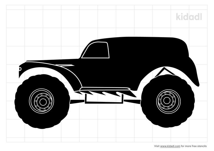monster-truck-stencil