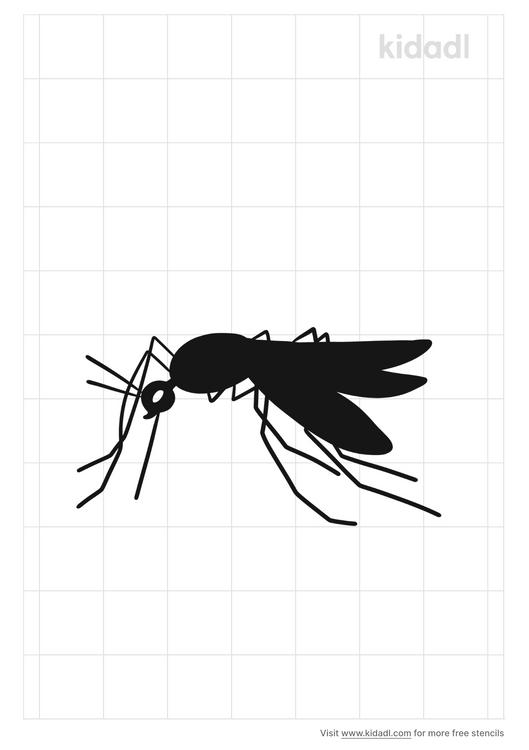 mosquito-stencil