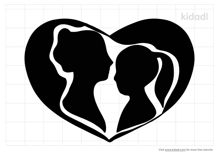 mother-daughter-stencil