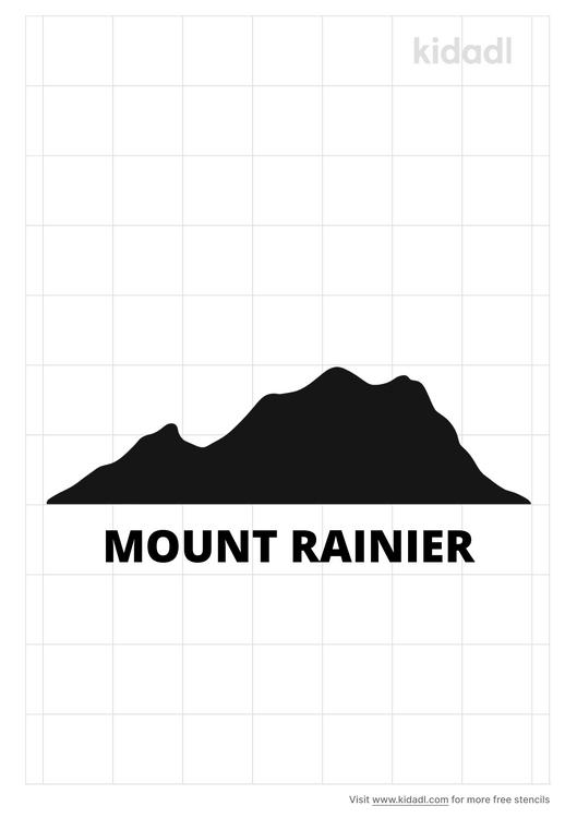 mount-rainier-stencil