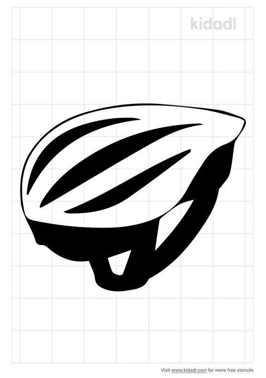 mountain-helmet-stencil