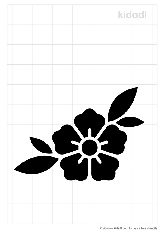 mugunghwa-stencil
