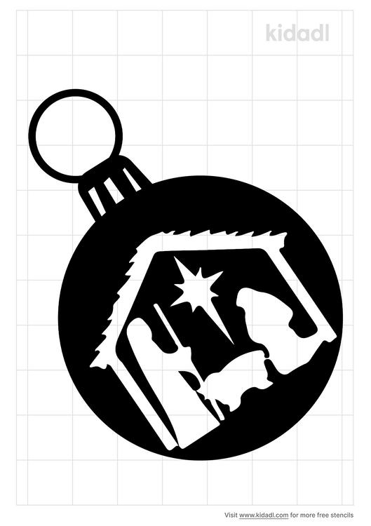 nativity-ornament-stencil
