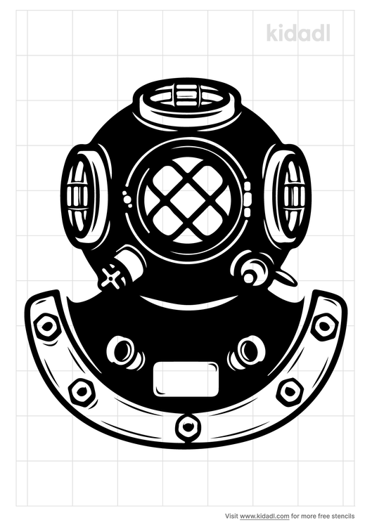 navy-diver-helmet-stencil
