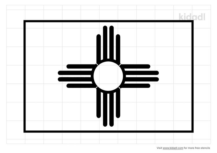 new-mexico-flag-stencil