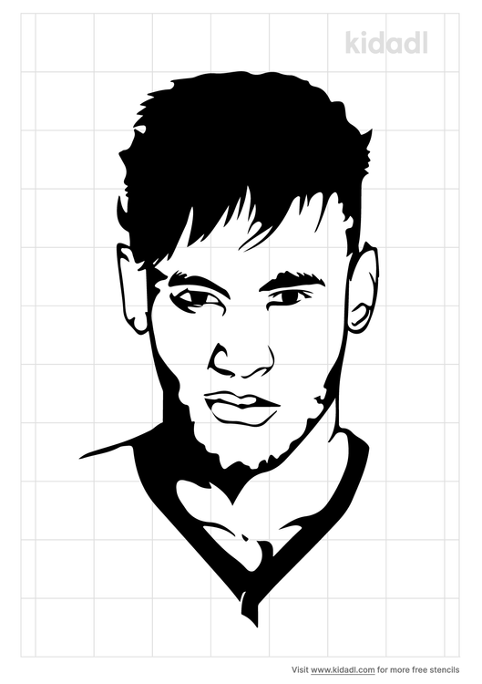 neymar-stencil
