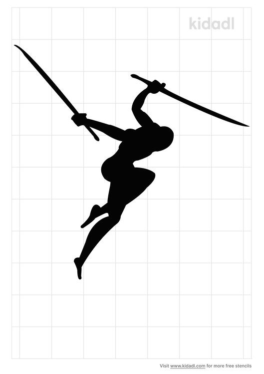 ninja-stencil