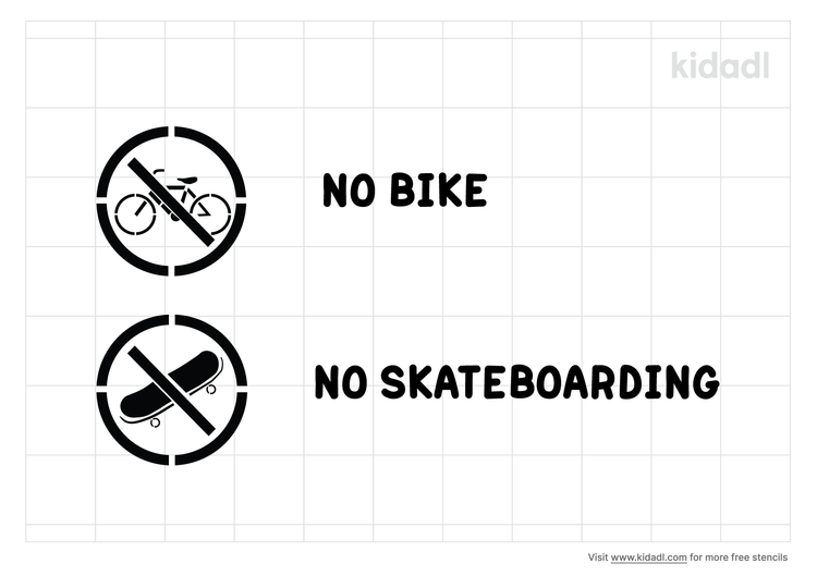 no-bike-or-skateboarding-stencil