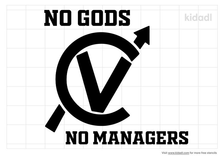 no-gods-no-managers-stencil