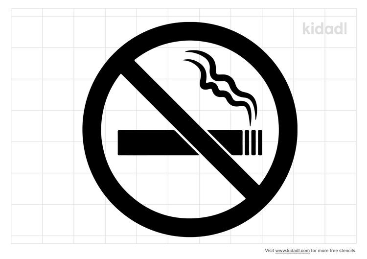 no-smoking-stencil
