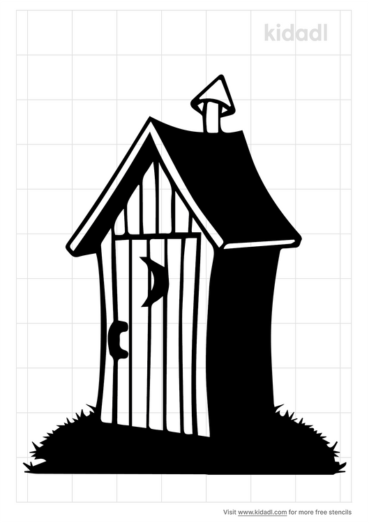outhouse-stencil