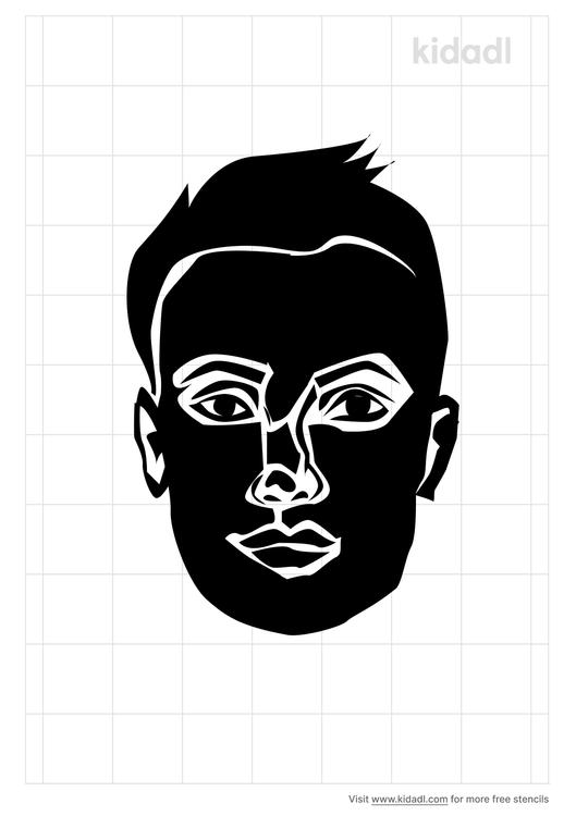 oval-face-men-stencil