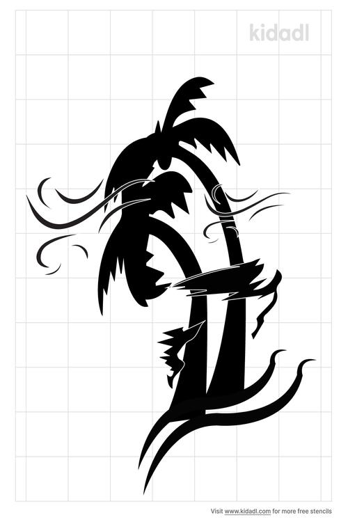 palm-tree-hurricane-stencil