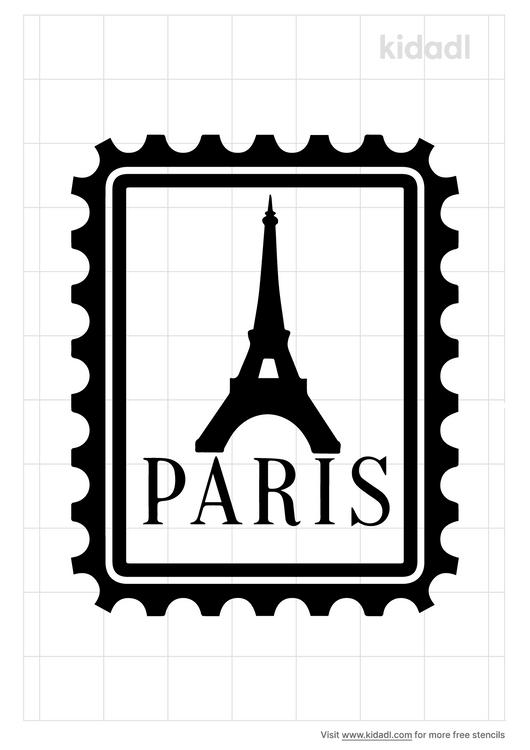 paris-postage-stencil