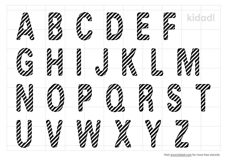 peppermint-letter-stencil