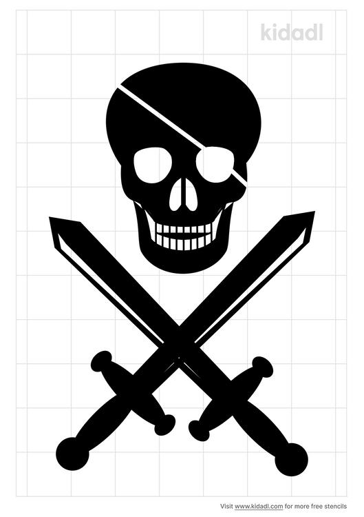 pirate-stencil