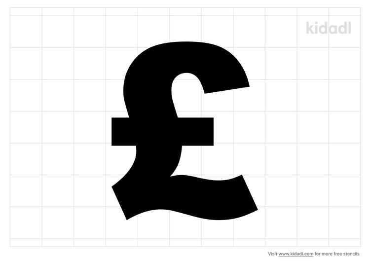 pound-sign-stencil