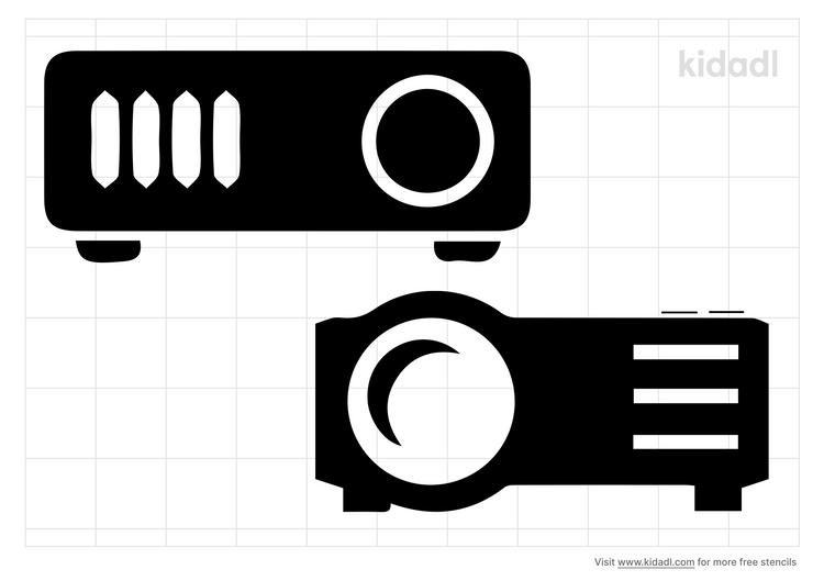 projector-stencil