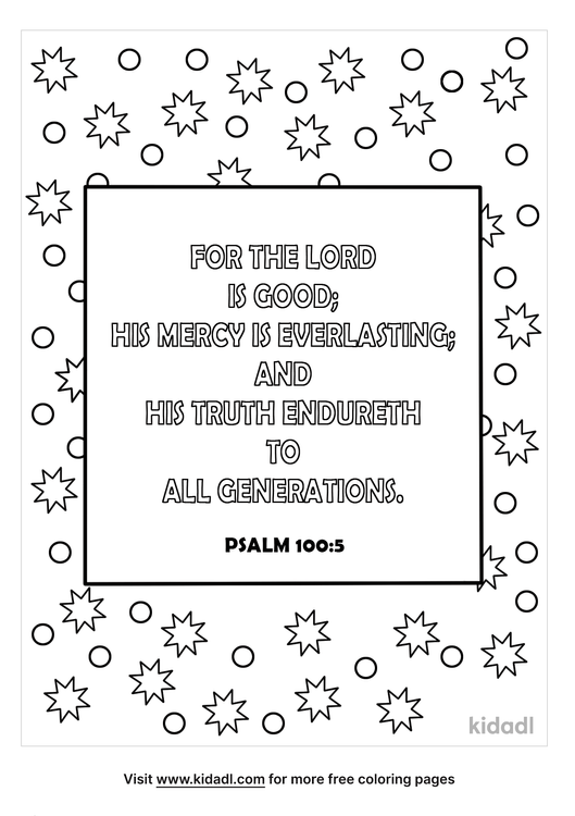 psalm-1005-coloriing-page