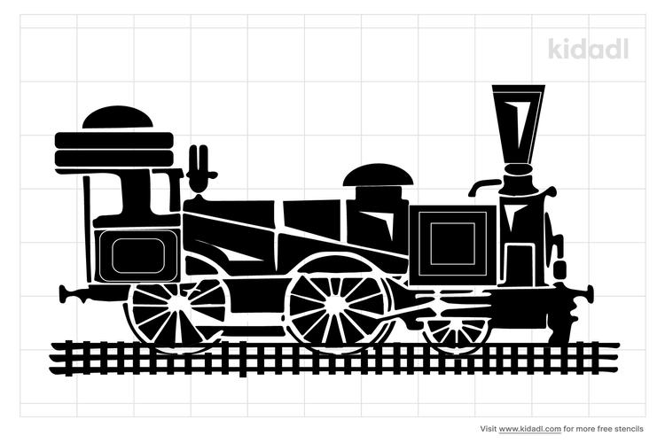 railroad-stencil