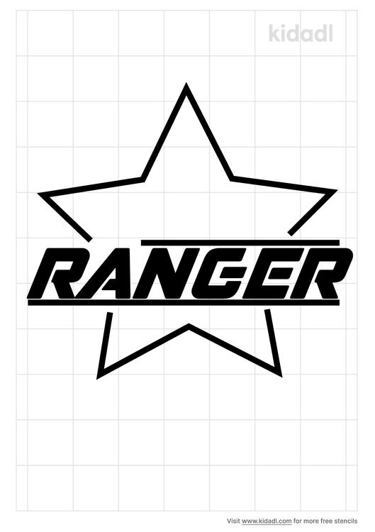 ranger-stencil