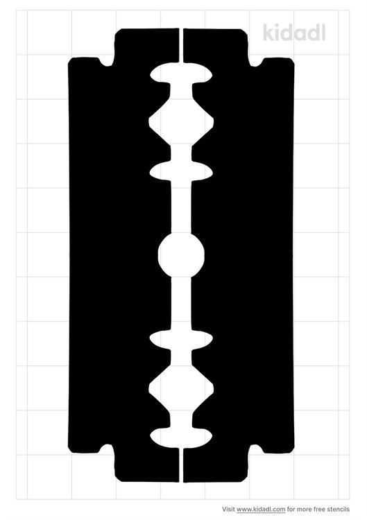 razor-stencil
