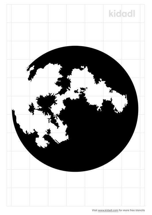 realistic-moon-stencil