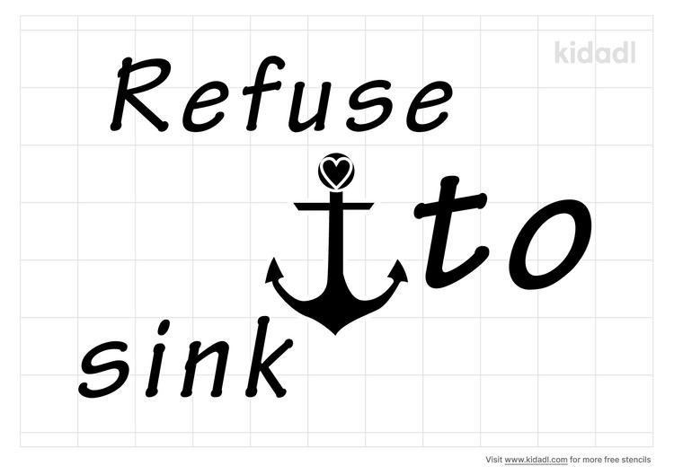 refuse-to-sink-stencil