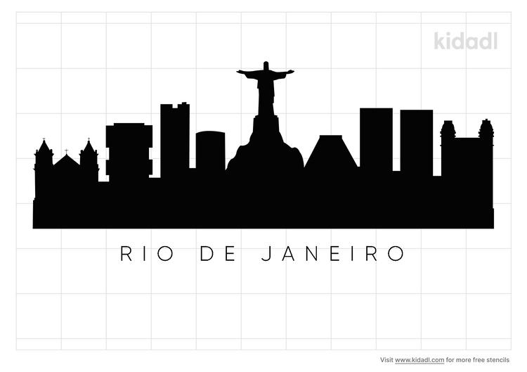 rio-de-janeiro-skyline-stencil