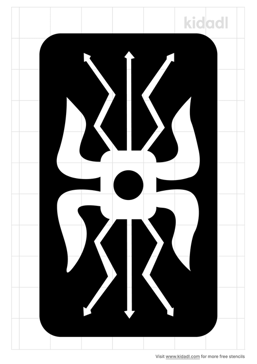 roman-shield-stencil