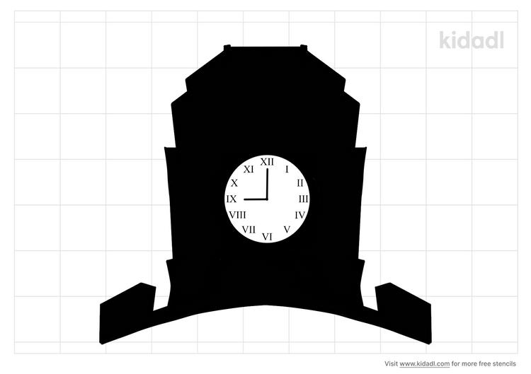 rome-ga-clock-tower-stencil