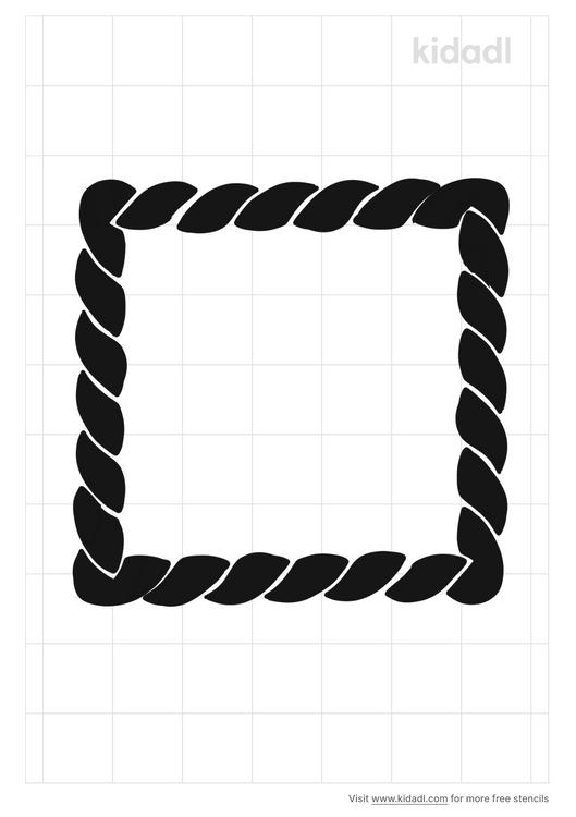 rope-border-stencil