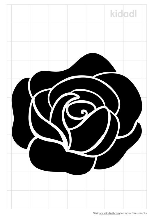 rose-petal-stencil