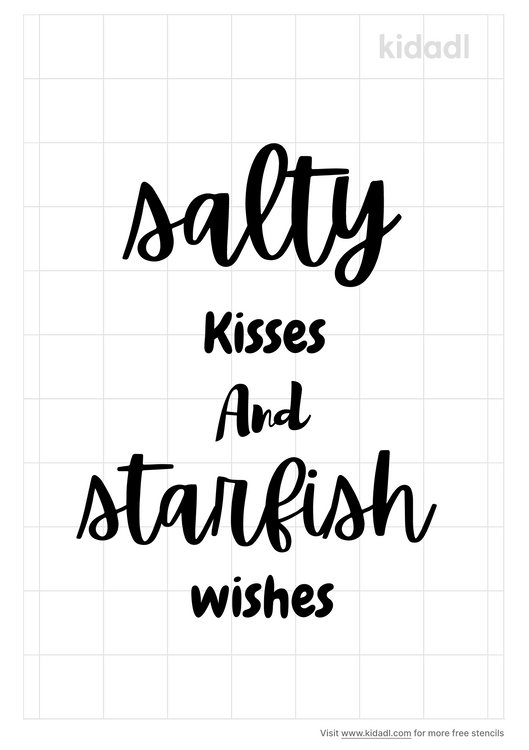 salty-kisses-and-starfish-wishes-stencil