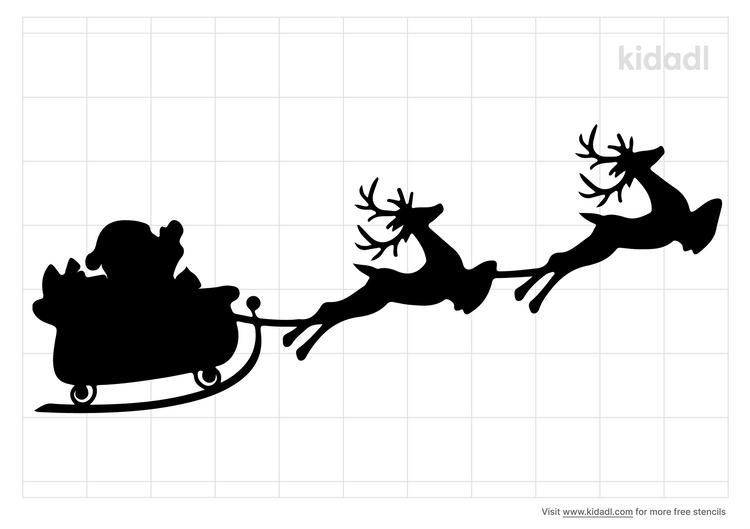 santa-claus-and-reindeer-stencil.png