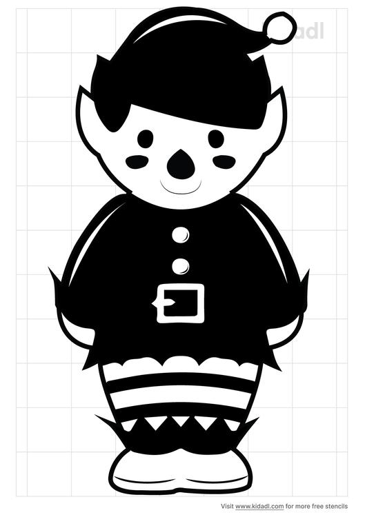 santas-little-helper-stencil