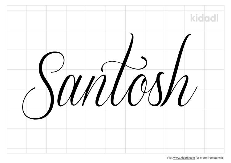 santosh-stencil