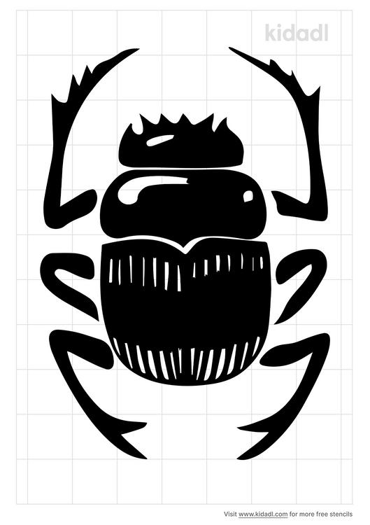 scarab-stencil