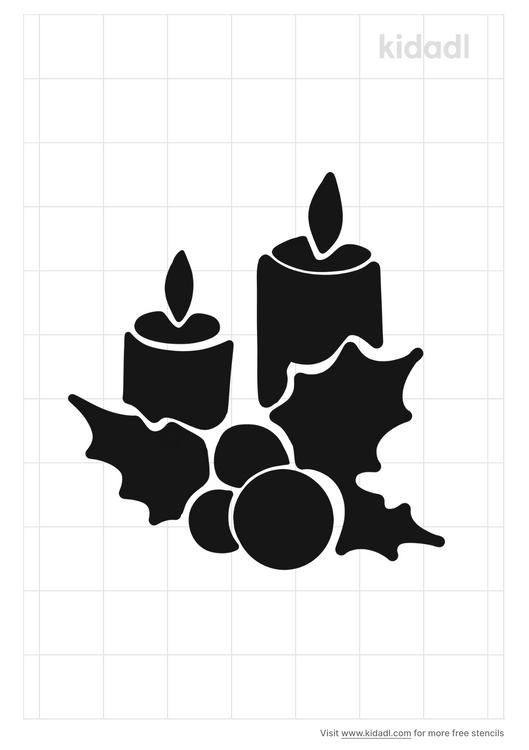 scraper-candle-hot-stencil