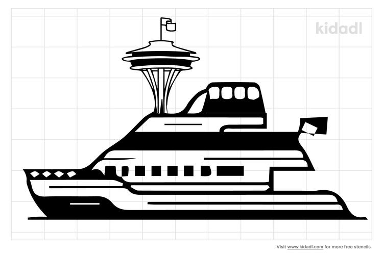 seattle-ferry-stencils