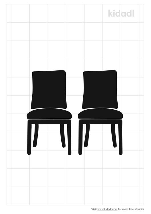 set-of-two-dining-chairs-stencil