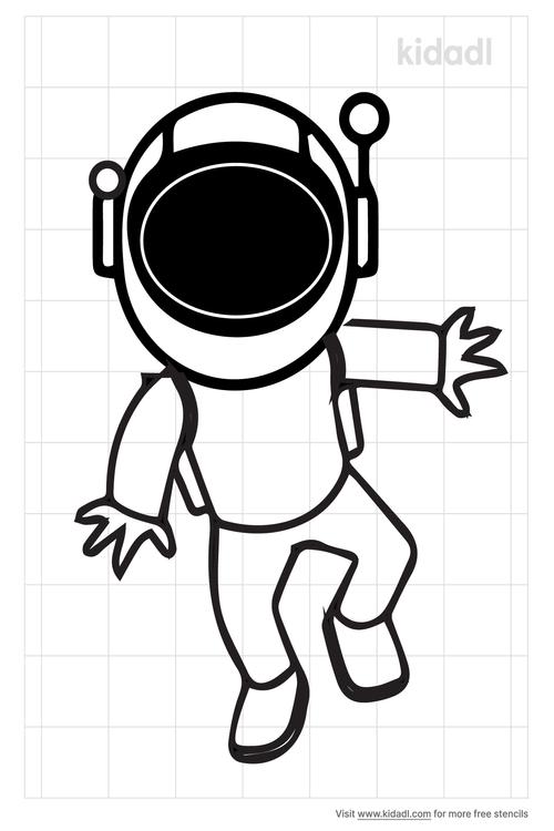 simple-astronaut-stencil