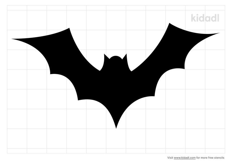 simple-bat-stencil