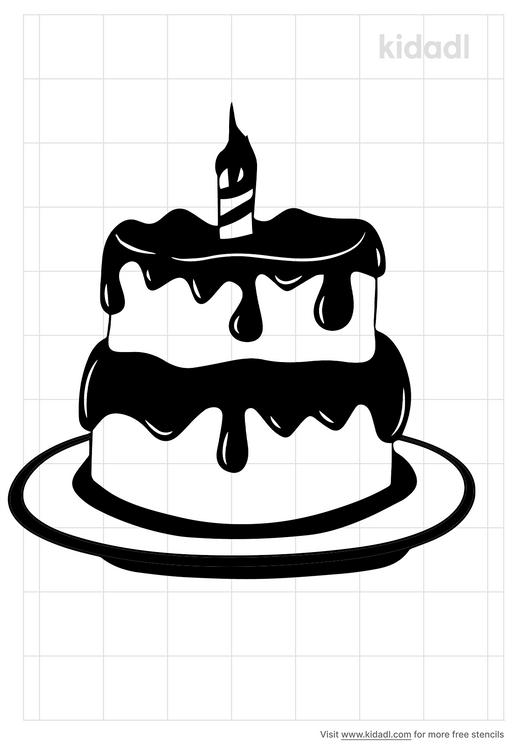 simple-cake-stencil